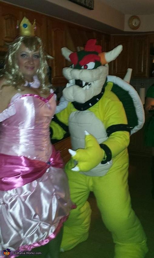 Bowser and Princess Peach Costume