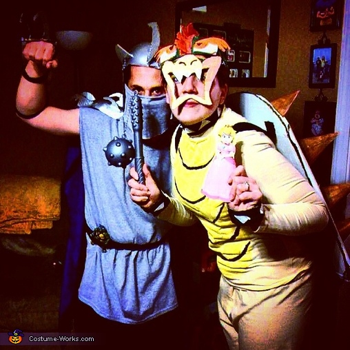 Bowser and Shredder Costume