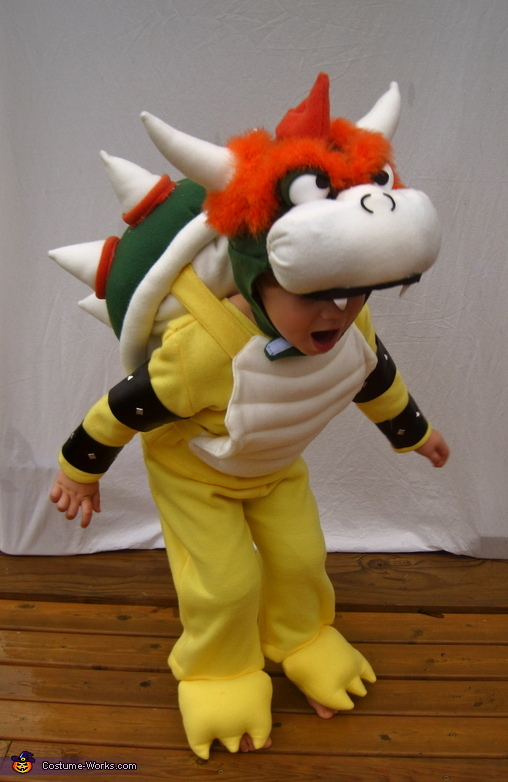 Bowser from Mario Bros. Costume
