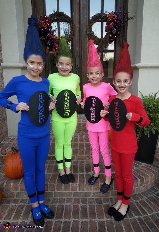 Crayola Crayons Costume