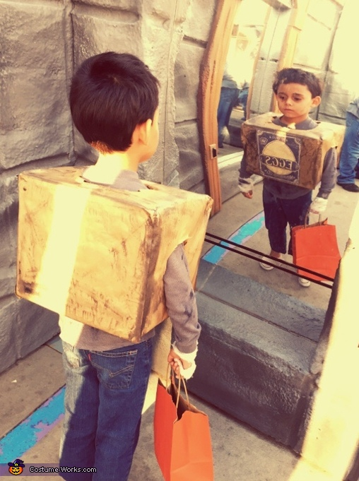 Box Troll Homemade Costume
