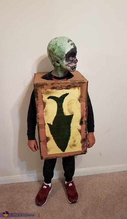 Box Troll Homemade Costume