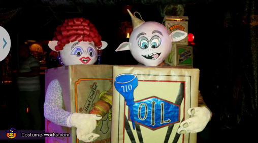 Box Trolls Homemade Costume