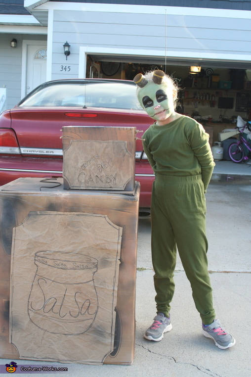 Even a 'candy box' to match!!!, Boxtrolls Costume