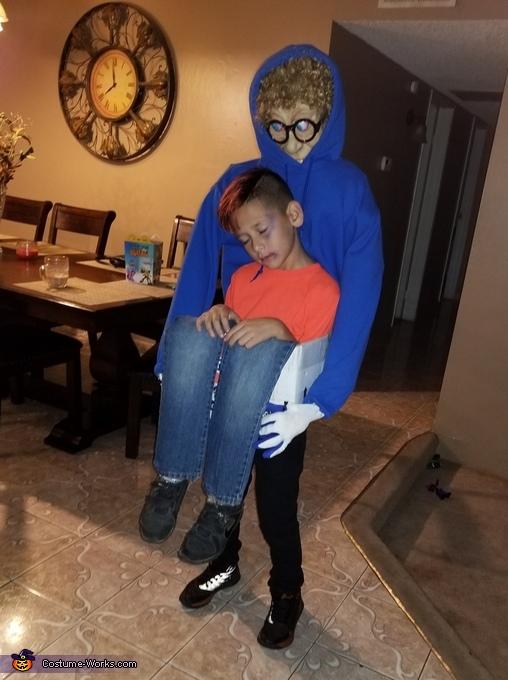 Boy in the Box Costume