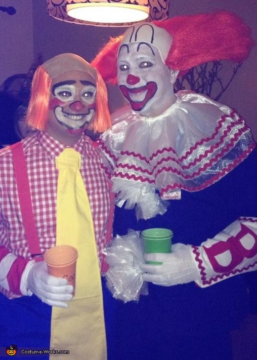 Bozo and Cooky Costume