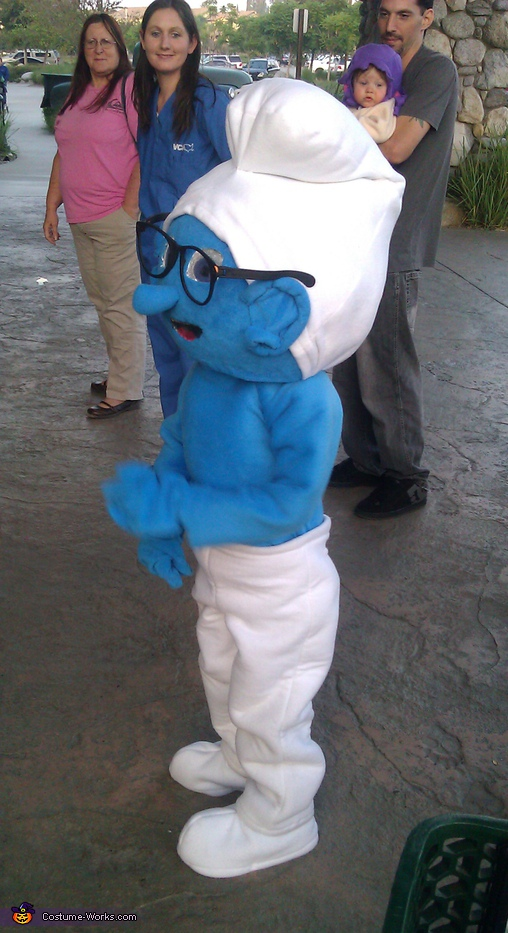 Brainy Smurf Costume