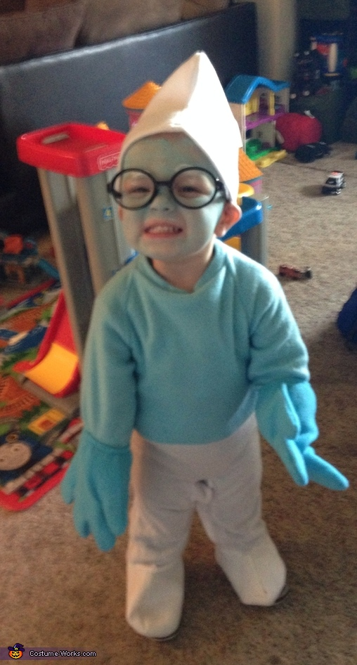 Brainy the Smurf Costume