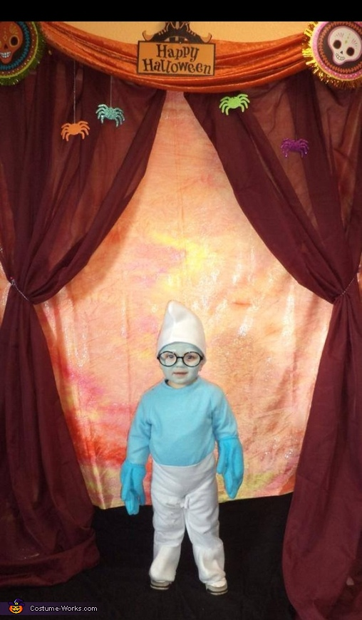 Brainy the Smurf Baby Costume