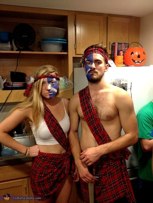 Homemade Braveheart Costume