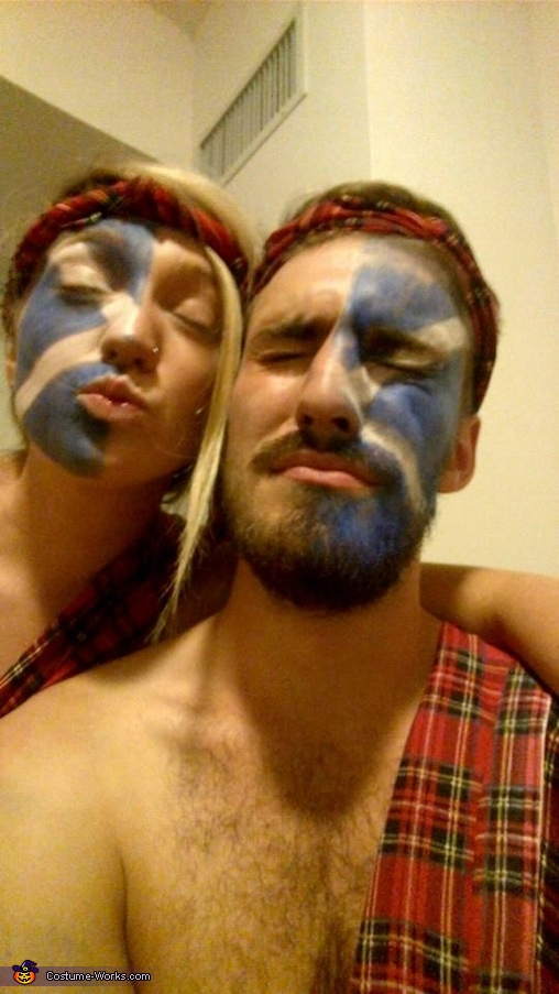 Easy Homemade Braveheart Costume