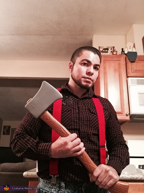 Brawny Paper Towel Guy Costume