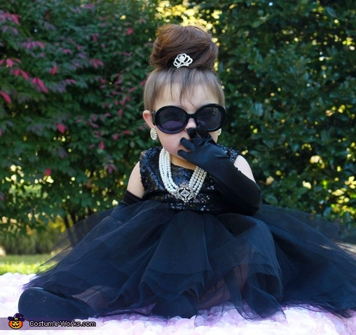 Breakfast at Tiffany's Homemade Costume