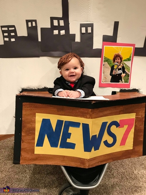 BREAKING NEWS: Baby's first Halloween Costume