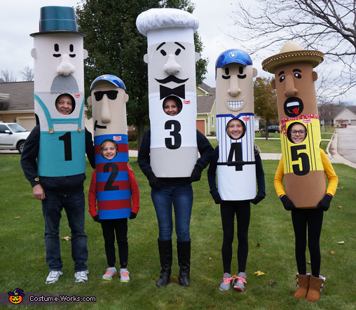 Brewers Racing Sausages Costume