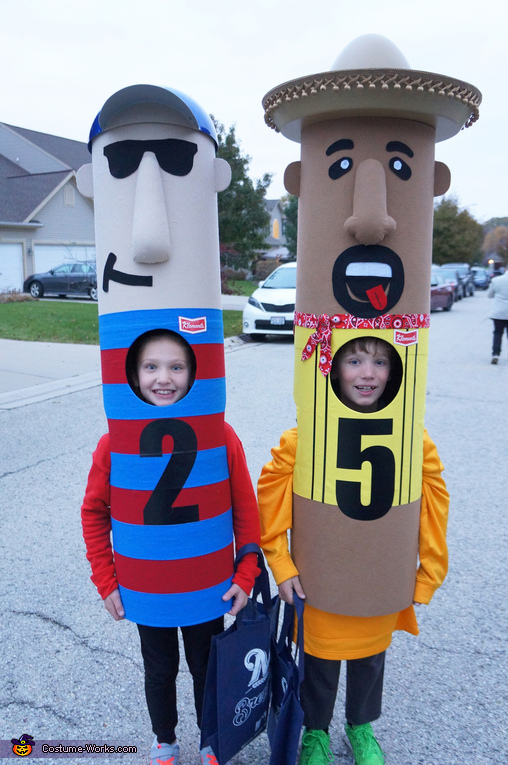 The wurst friends, Brewers Racing Sausages Costume