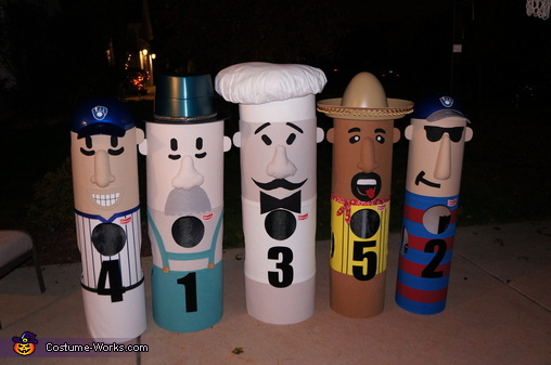 Taking it easy, Brewers Racing Sausages Costume
