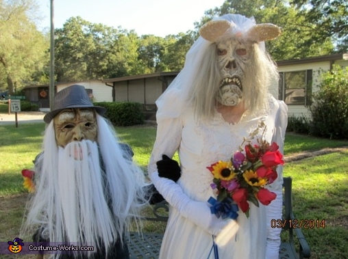 Bride and Groom from Hell Costume