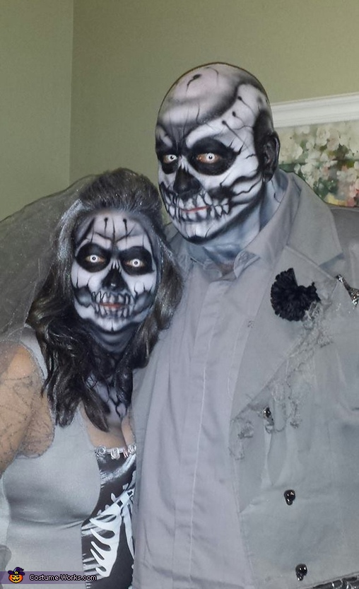 Bride and Groom of the Dead Costume