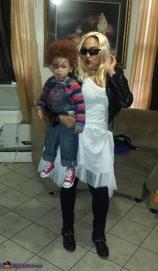 Bride & Chucky Costume