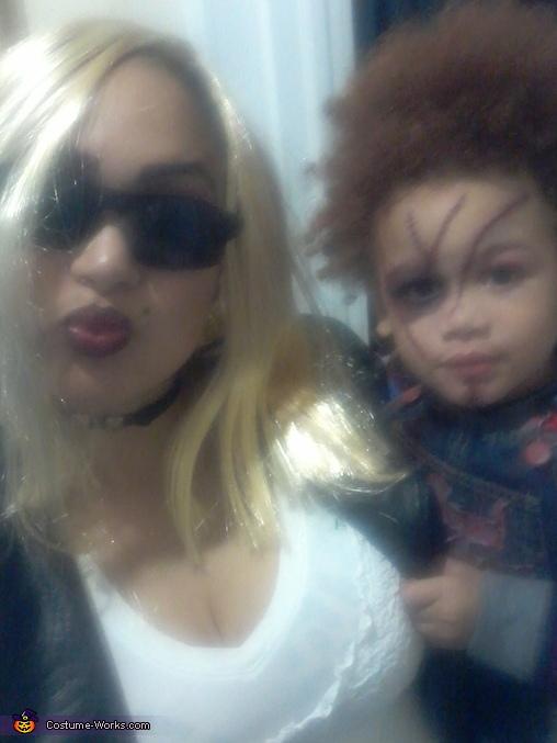 Bride & Chucky, Bride & Chucky Costume