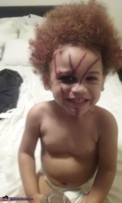 still a Good Guy lol, Bride & Chucky Costume