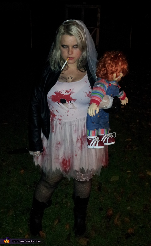 Bride of Chucky Costume http://www.costume-works.com/bride_of_chucky1.html