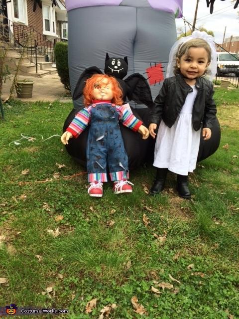 Bride of Chucky Baby Halloween Costume