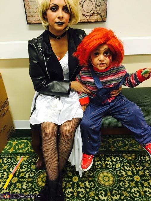 Bride of Chucky Family Costume