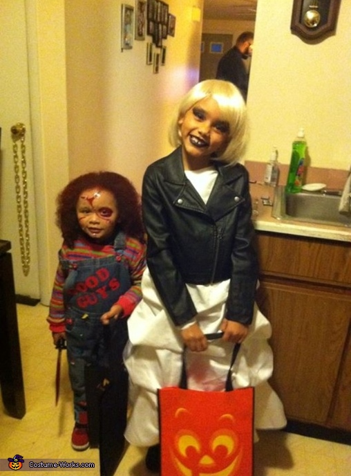 Bride of Chucky Girls Costume
