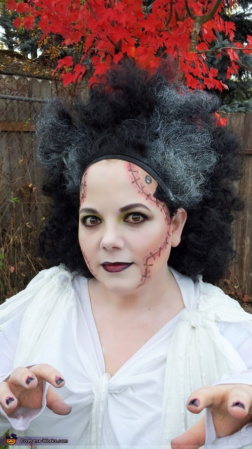 Make up, Bride of Frankenstein Costume