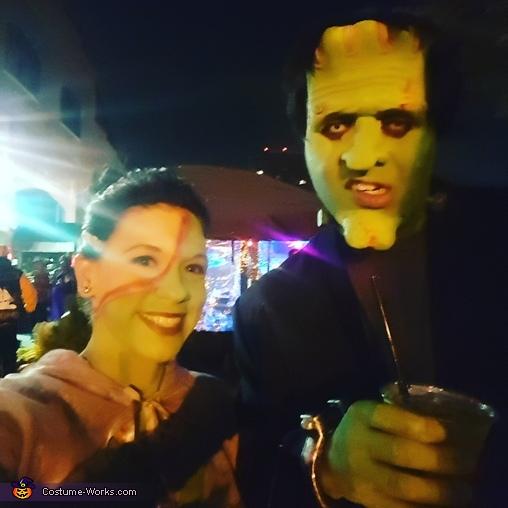 Bride of Frankenstein Homemade Costume