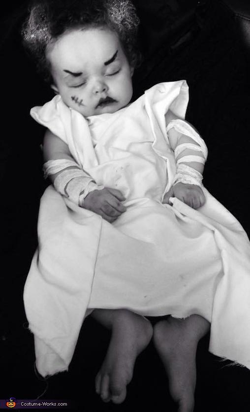 Bride of Frankenstein Baby Costume