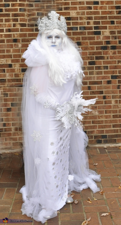 Bride of Frankenstorm Snow Queen Costume  sc 1 st  Costume Works & Bride of Frankenstorm - Snow Queen Halloween Costume