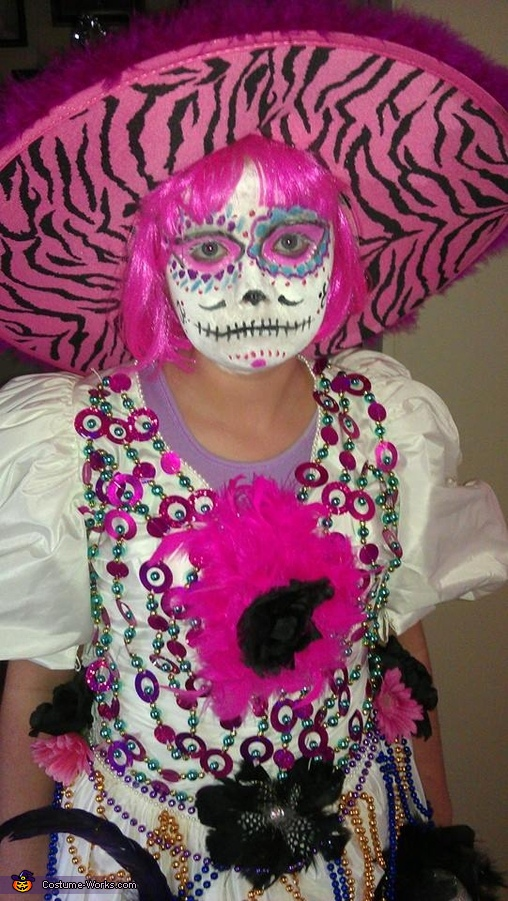 Bride of The Sugar Skulls Costume