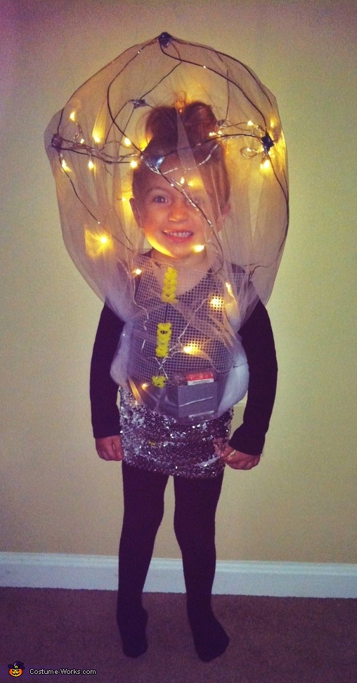 Bright: Our Little Lightbulb Costume
