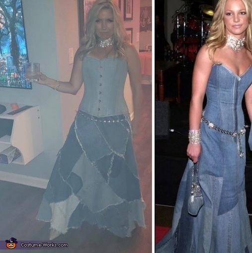 Britney Denim, Britney & Justin Denim Costume