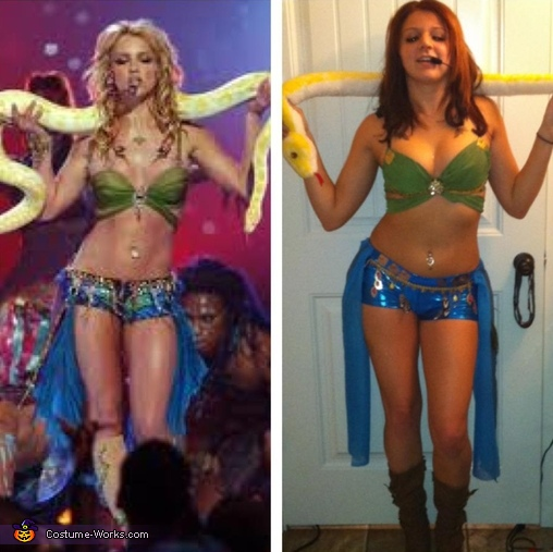 Slave For You Britney Spears Costume