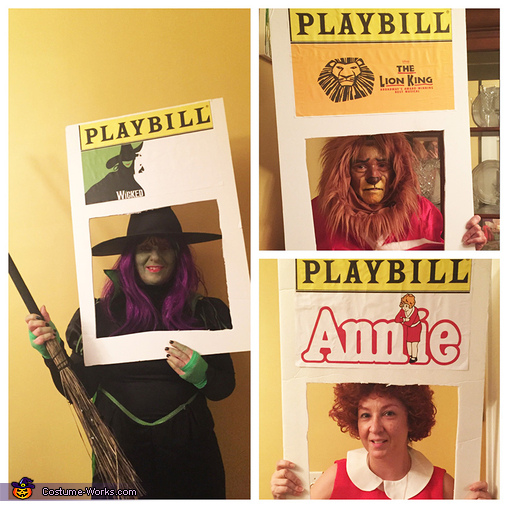 Wicked, The Lion King, Annie, Broadway Musicals Costume