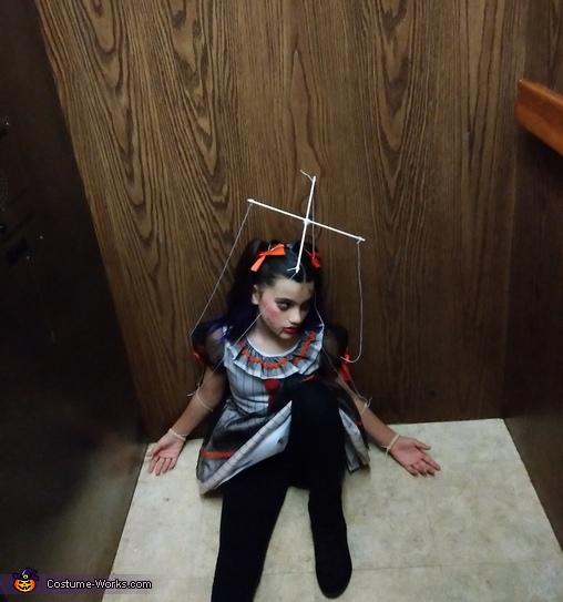 Broken Marionette Doll Costume