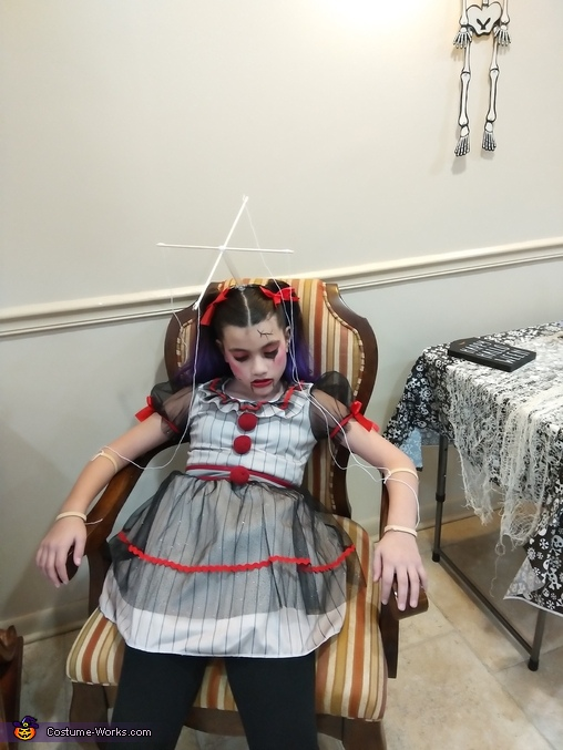 Won't you please play with me?, Broken Marionette Doll Costume