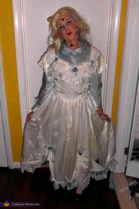 Broken Porcelain Doll Homemade Costume