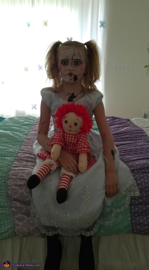 Broken Porcelain Doll Costume