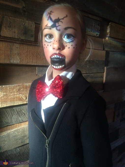 Broken Ventriloquist Doll Costume