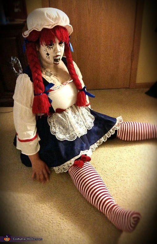 Broken Wind Up Doll Costume