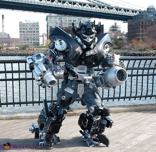 Brooklyn Ironhide Costume