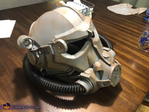 Final helmet, Brotherhood of Steel Power Armor Costume