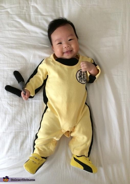 Bruce Lee Baby Costume
