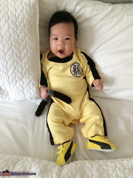 Happy little Bruce, Bruce Lee Baby Costume