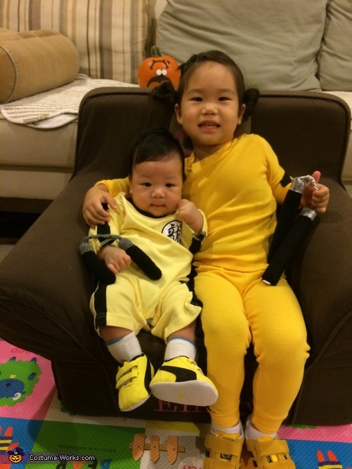 Wanna mess with me?, Bruce Lee Baby Costume
